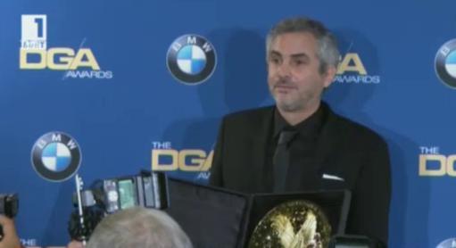 Алфонсо Куарон триумфира на наградите на Гилдията на режисьорите