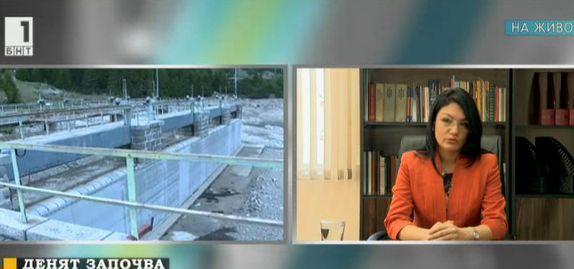 Ася Петрова: Няма наложена административна мярка за язовирите в предаварийно състояние