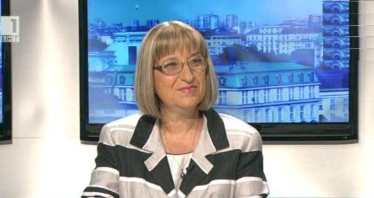 Цецка Цачева: При победа на ГЕРБ Борисов ще е министър-председател