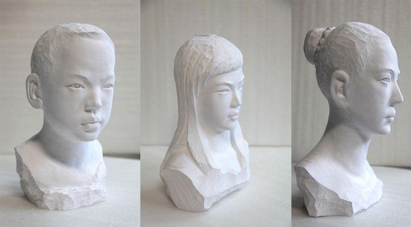 Хартиените скулптури на Ли Хонгбо