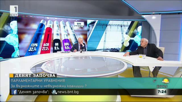 Доц. Димитър Димитров: ГЕРБ и ОП имат отговорност за формиране на мнозинство