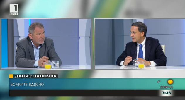Болките вдясно - коментар на Стефан Тафров и Методи Андреев