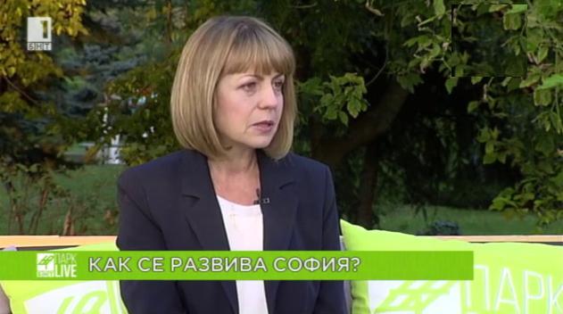 Йорданка Фандъкова - гост в БНТ ПАРК LIVE