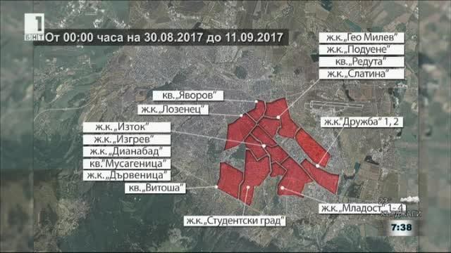 Половин София без топла вода до 11 септември