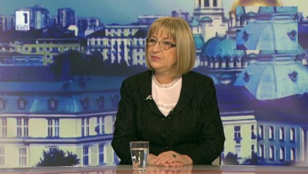 Цецка Цачева: ГЕРБ подкрепя президента за референдум за изборите