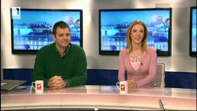 Сочи 2014 - лицата на олимпийската телевизия: Цвети Абрашева и Иван Петров