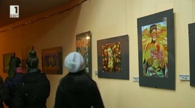 Деца от Кюстендил рисуват шедьоврите на Майстора