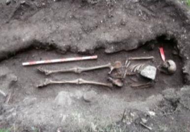 Вампирско погребение край Враца