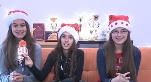 Трио Вива с поздрав за Коледа
