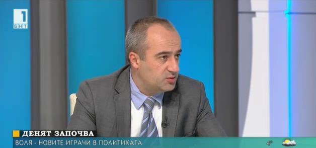 Воля - новият играч в политиката. Говори Стефан Августинов