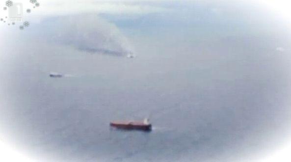 Спасителната акция на гръцкия ферибот