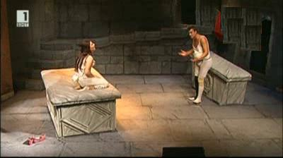 То беше чучулига, Жулиета в Пловдивския театър