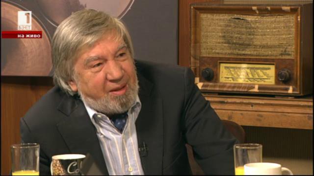 Величко Конакчиев - първият, който обяви в ефир свалянето на Тодор Живков
