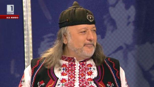 Володя Стоянов - гост в Денят започва с Георги Любенов