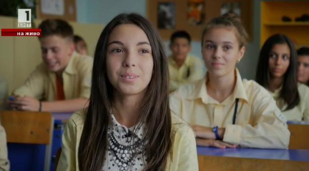 Среща с Габи - нашето момиче на Детската Евровизия