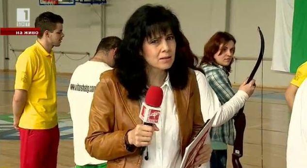 Турнир по стрелба между журналисти и незрящи
