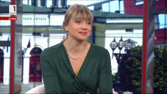 Мис телевизионен чар Поли Златарева за каузата, наречена телевизия