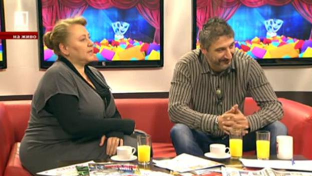Актьорите Албена Колева и Кирил Ефремов – специални гости на Георги Любенов