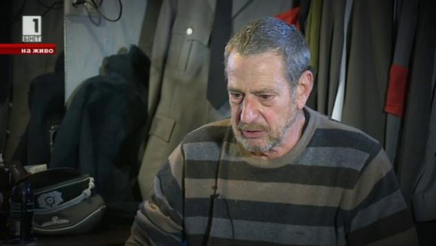 Актьорът Йосиф Сърчаджиев в утрото на БНТ