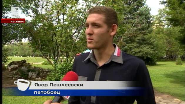 Среща с Явор Пешлеевски в утрото на БНТ