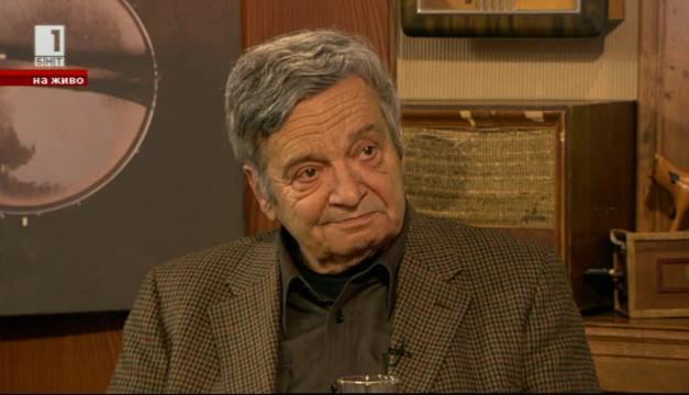 Специален гост в студиото: телевизионната легенда Величко Скорчев навръх имения си ден