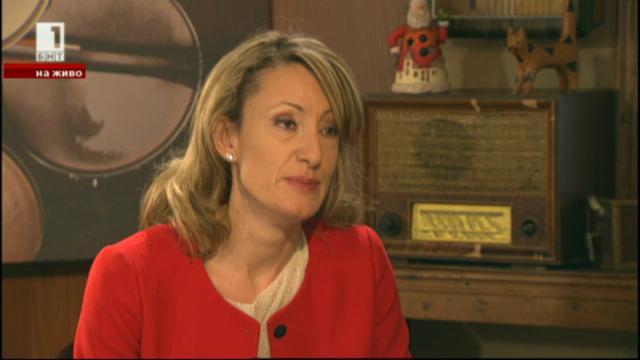 Зинаида Златанова: Намалихме 8 пъти загубите на  евросредства