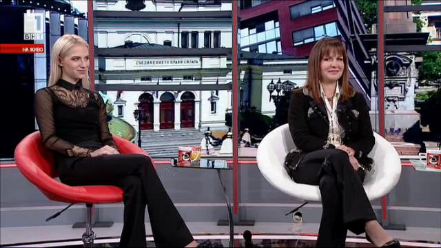 Семейно утро: Жени Живкова и Андреа Стефанова