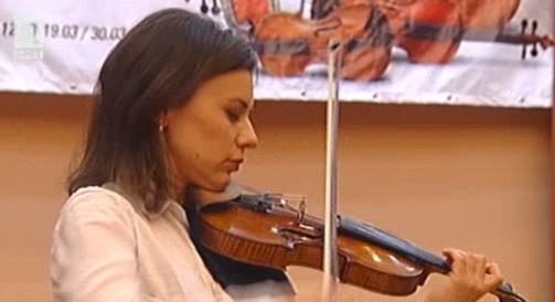 Мила Георгиева на Европейския музикален фестивал