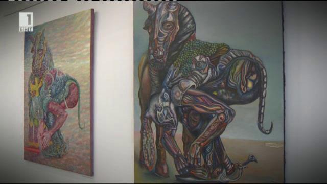 Димитър Маринков представя изложбата Еклектум