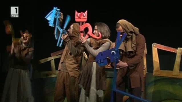 Младият актьорски състав на Държавен куклен театър – Видин спечели награда