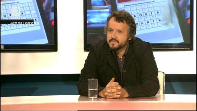"""Калин Терзийски представи книгата си """"Българските владетели. Свободни асоциации"""""""