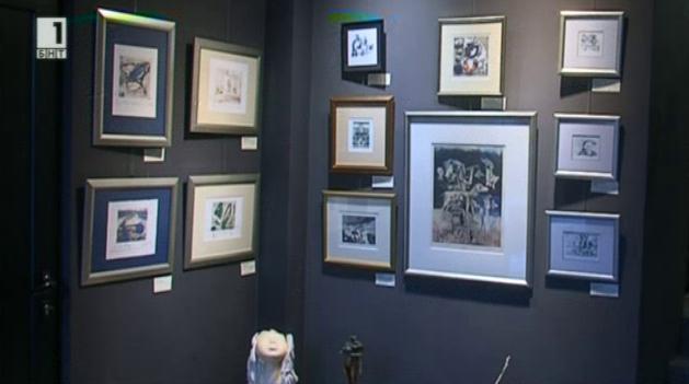"""Изложба графика – малък формат и екслибрис, във варненската галерия """"Папийон"""""""