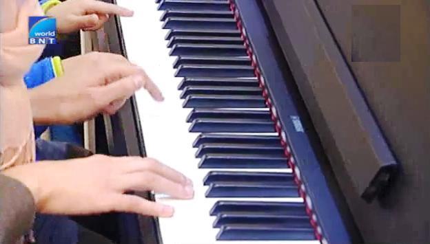 Учим пиано в къщата-музей Панчо Владигеров