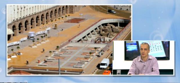 Ще се развие ли древният амфитеатър под центъра на София?