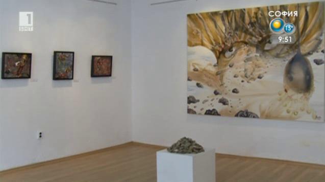 Юбилейна изложба на Анастас Константинов в Пловдив