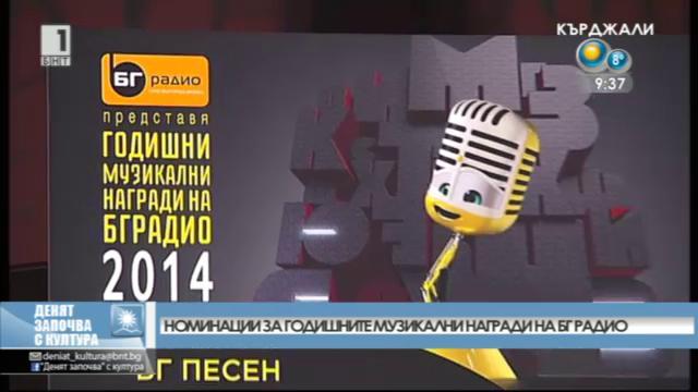 Музикалните номинации на БГ радио