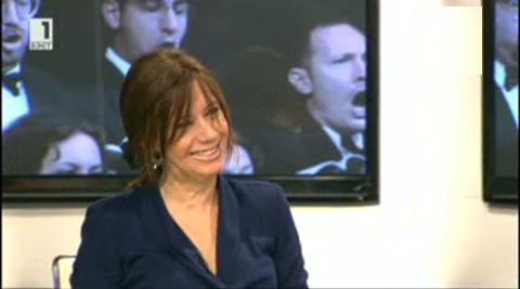 Преди концерта на Мориконе - разговор със Сузана Ригачи