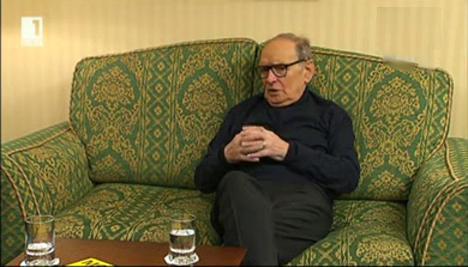Интервю с Енио Мориконе