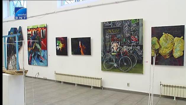 Изложба на дипломираните магистри от факултета по изящни изкуства в НХА