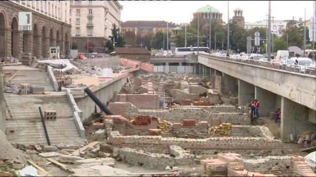 Проектът за столичното Ларго спира
