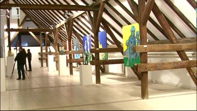 Изложба на Петр Йедличка в ГХГ - Варна