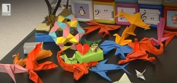 """Рубриката """"Хоби"""" - оригами"""