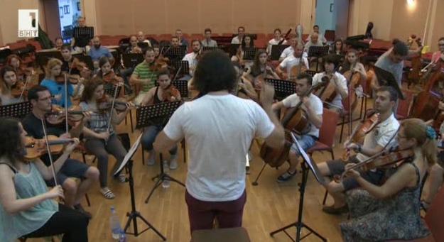 Концерт на Нов симфоничен оркестър