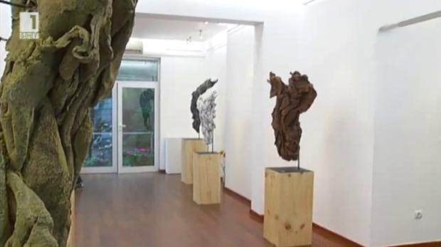 Скулптурни обекти в галерия Ракурси