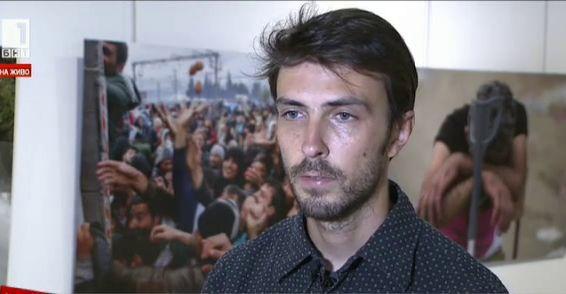 Самостоятелна изложба на Стоян Ненов - първият българин, носител на Пулицър