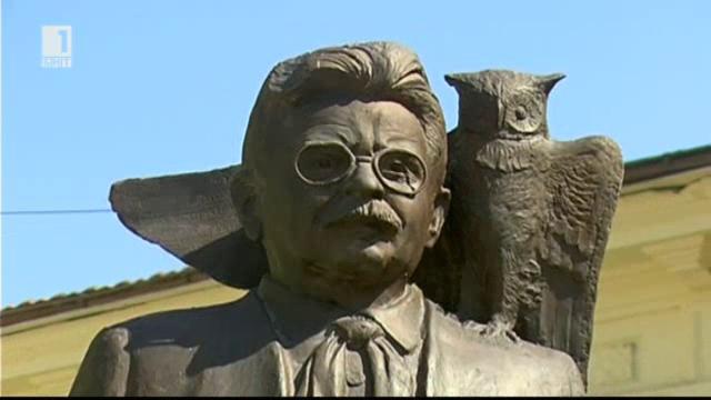 Откриване на паметник на Елиас Канети