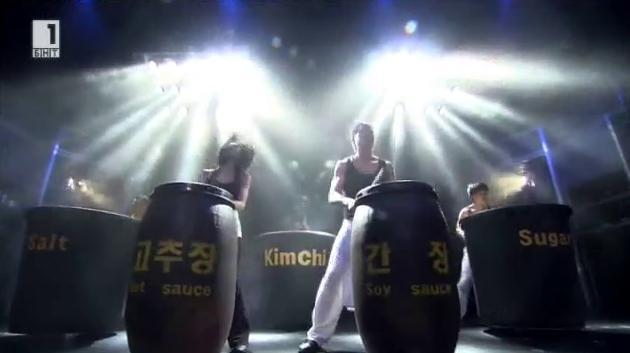 Корейското шоу Нанта за първи път в България