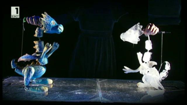 Спектакълът Ледено на Ателие 313
