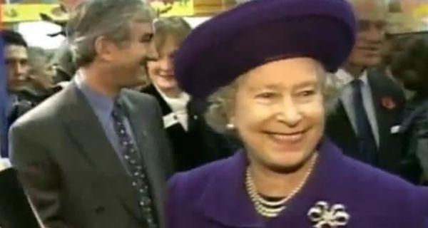 Английската кралица на 90