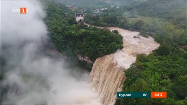 Най-големият водопад в Китай